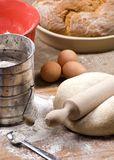 Herstellung von Brot-Serie 019 Stockbild