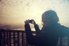 Herstellung von Fotos von London lizenzfreie stockfotografie