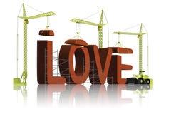 Herstellung von Liebe stock abbildung
