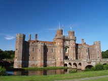 Herstmonceux Castle royalty free stock photos