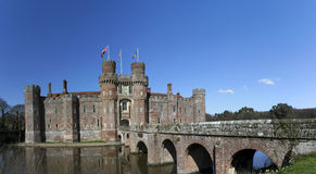 Herstmonceux castle east sussex england Stock Photos