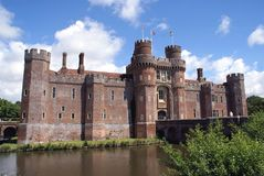 Herstmonceux Castle, East Sussex, England Stock Photos