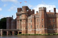Herstmonceux Castle, East Sussex, England Stock Images