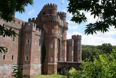 Herstmonceux Castle, England Royalty Free Stock Photography