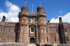 Herstmonceux Castle in Herstmonceux, East Sussex, England, Europe. Stock Image