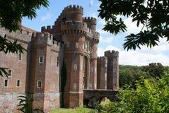 Herstmonceux slott, England royaltyfri fotografi