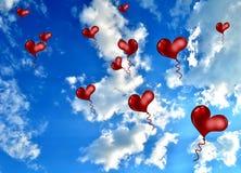 Hertballons Stock Foto's