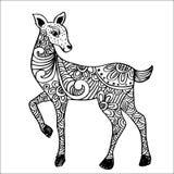 Herten Decoratieve stijl Vector Illustratie