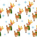 herten pattern4 royalty-vrije illustratie