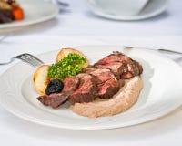 Hertevleeslapje vlees Royalty-vrije Stock Afbeelding