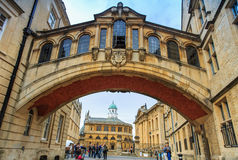 Hertford Bridge, Oxford University. Stock Images