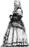 Hertiginna royaltyfri illustrationer