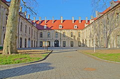 Hertiglig slott i Sagan. Royaltyfria Bilder