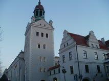 Hertiglig slott Polen Arkivbilder