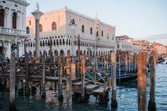 Hertiglig slott venice veneto Italien Europa Arkivfoton