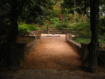 hertigträdgårdskulptur Arkivfoton
