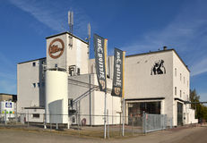 Hertog Jan brewery in Arcen. NETHERLANDS - ARCEN - OCTOBER 2011: Hertog Jan brewery in Arcen Stock Photos