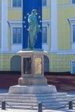 Hertogmonument in Odessa, de Oekraïne Royalty-vrije Stock Foto's