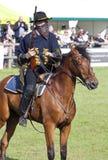 Herts County Show Devils Horsemen display team. The Devil's Horsemen in action at The Herts County Show 2013 Stock Image