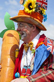 Herts County Show Entertainer Stock Image