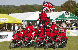 Herts County Show Imps Motercycle Display Team Royalty Free Stock Photo