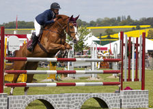 Herts County Show Showjumping Royalty Free Stock Images
