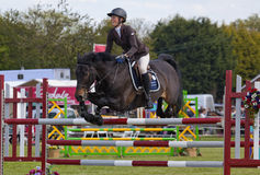 Herts County Show Showjumping Stock Image
