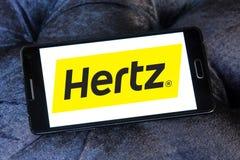 Hertz car rental logo Royalty Free Stock Photos