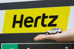 Hertz Car Rental Stock Photos