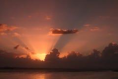 Hervey Bay Sunrise Immagine Stock Libera da Diritti