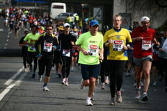 Hervis Prague Half Marathon Royalty Free Stock Images