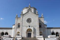Hervorragender Kirchhof von Mailand Stockfoto