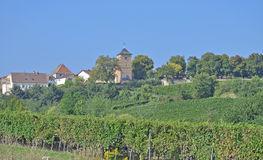 Herxheim am Berg,german Wine Route,Palatinate Royalty Free Stock Photo