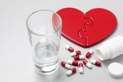 Herz-Abhilfe Lizenzfreie Stockbilder