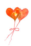 Herz-Ballone Stockbilder