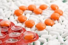 Herz der Tabletten Lizenzfreie Stockfotografie