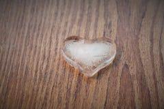 Herz des Eises Stockfotografie