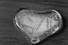Herz des Eises Stockbild