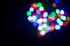 Herz des Lichtes lampen Nahtloses geschlungen Lizenzfreie Stockfotografie