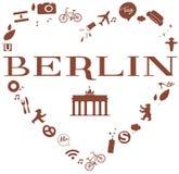 Herz 3 di Berlino Fotografie Stock