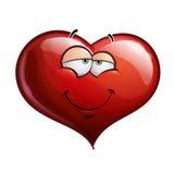 Herz-Gesichter - in der Liebe stock abbildung