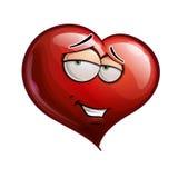 Herz-Gesichter - romantisch lizenzfreie abbildung