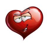 Herz-Gesichter - he Sie vektor abbildung
