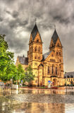 Herz-Jesu-Kirche, церковь в Кобленце Стоковые Фото