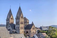Herz Jesu kościół w centre Koblenz Obrazy Royalty Free