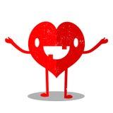 Herz-Karikatur Stockbild