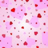 Herz-Konfettis valentines vektor abbildung