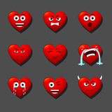 Herz-Liebhaber des Herzens Stockfoto