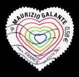 Herz Maurizio Galante, Valentinstag serie, circa 2011 Stockbilder