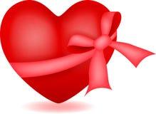 Herz mit Band vektor abbildung